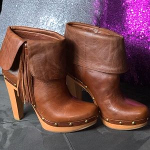 INC leather boots!